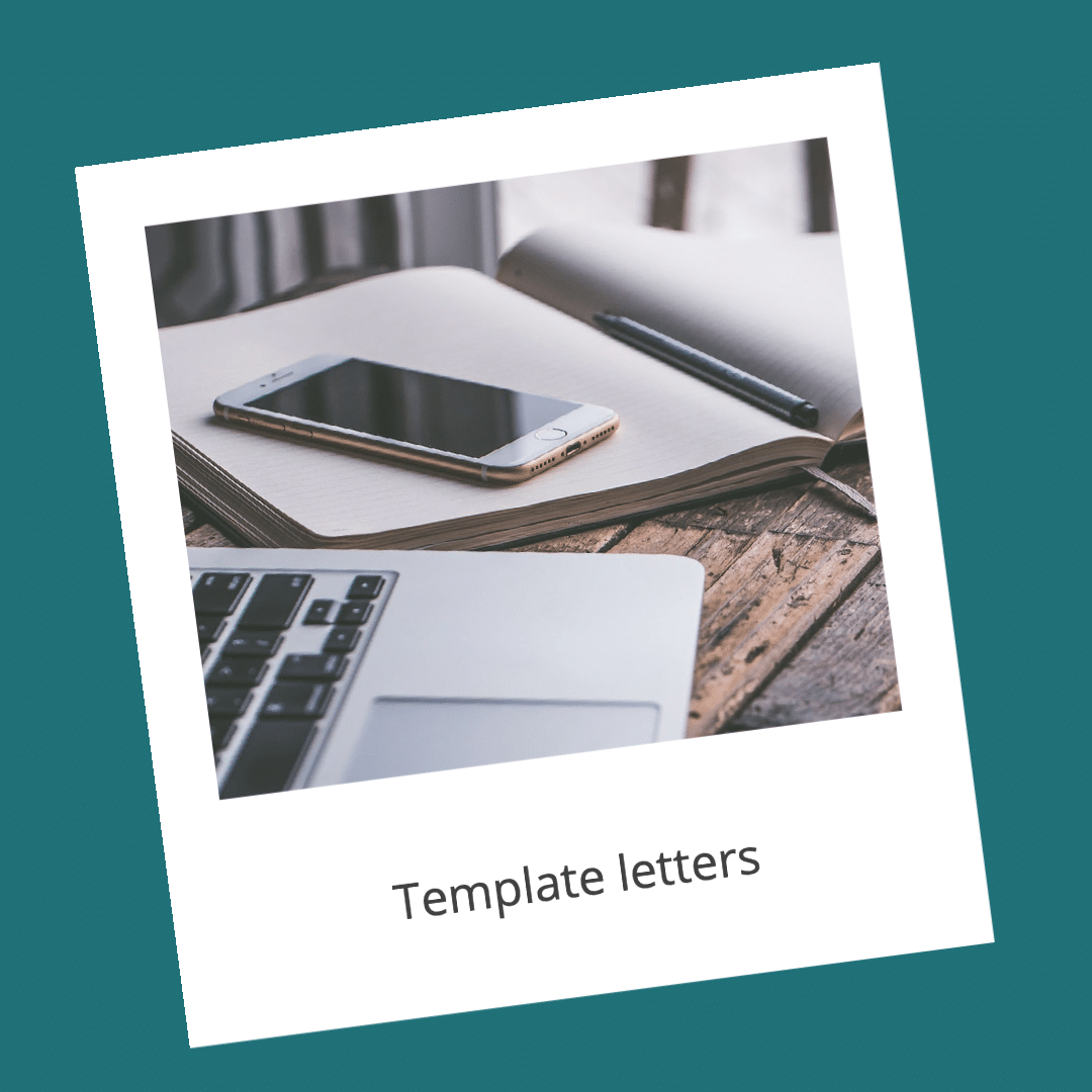 Template letters