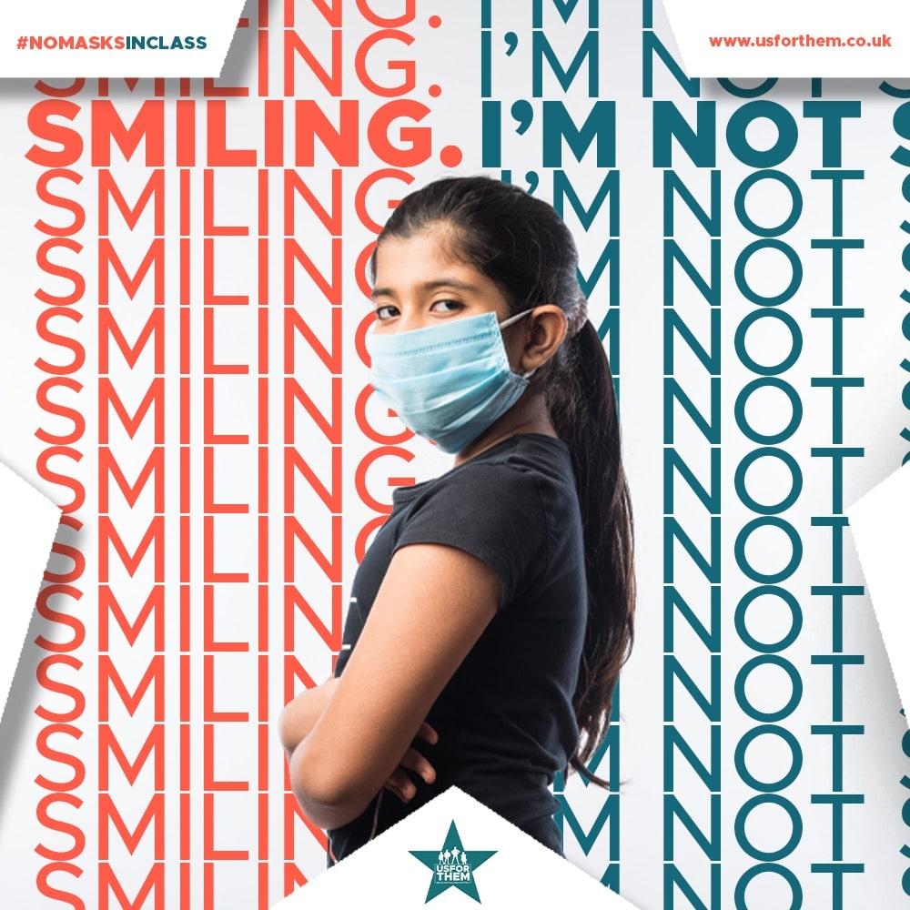 Our Current Campaign #NOMASKSINCLASS