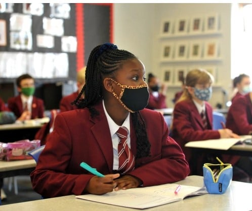 Kids MUST carry on wearing masks in classroom or risk third wave of Covid in schools, warn unions
