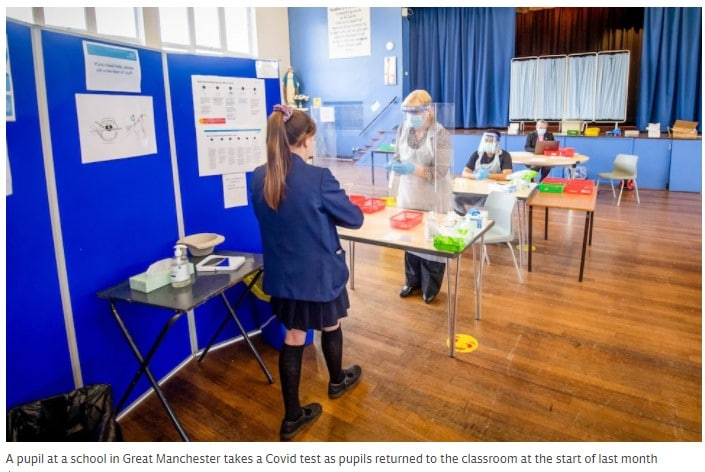 The apocalyptic schools Covid spike predicted by scientists simply hasn't materialised